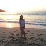 Amo las playas mexicanas, aquí en Sayulita